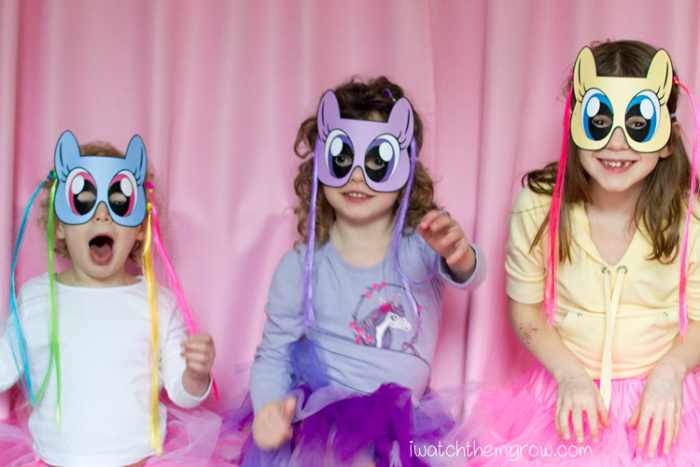 pony mask  Pony Paper Mask